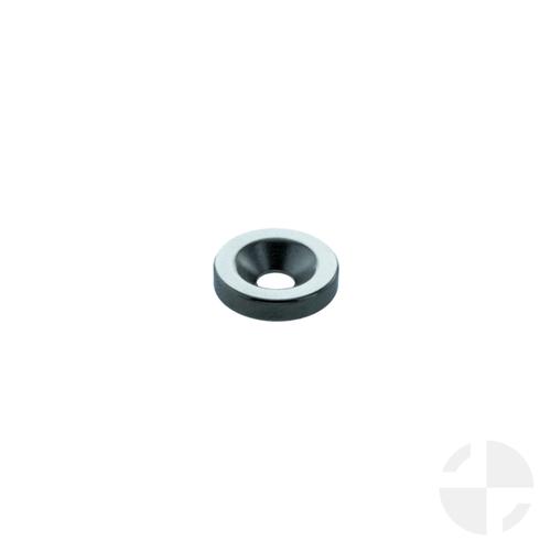 Neodymium ring with 90° counterbore, anisotropic