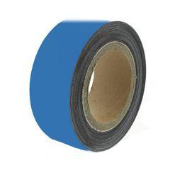 Magnetic tape 10 m, blue matte