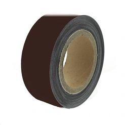 Magnetic tape 10 mtr, plain brown