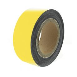 Magnetic tape 10 m, yellow matte