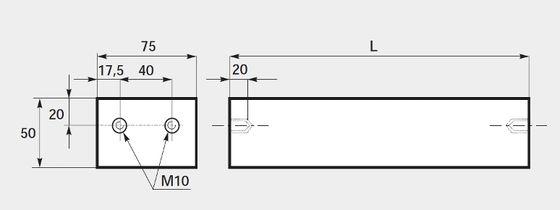 FDB plate magnets, ferrite