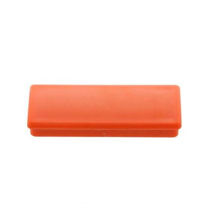 Office magnet, ferrite, square, orange