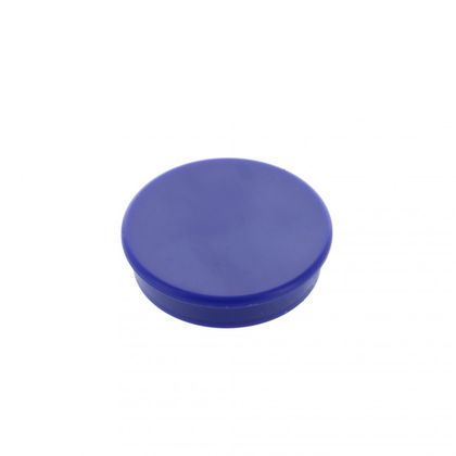 Office magnet, ferrite, round, blue