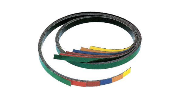 Magnetic strip 1 m, white glossy (flipchart)