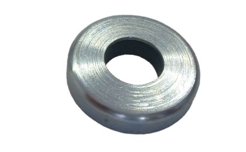 Pot magnet flat with cylinder bore, Fe